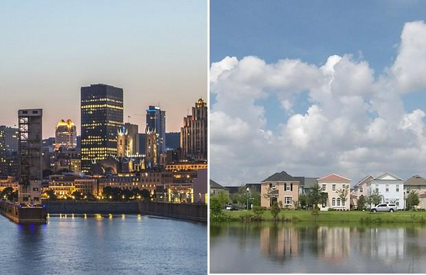 Ville ou banlieue?