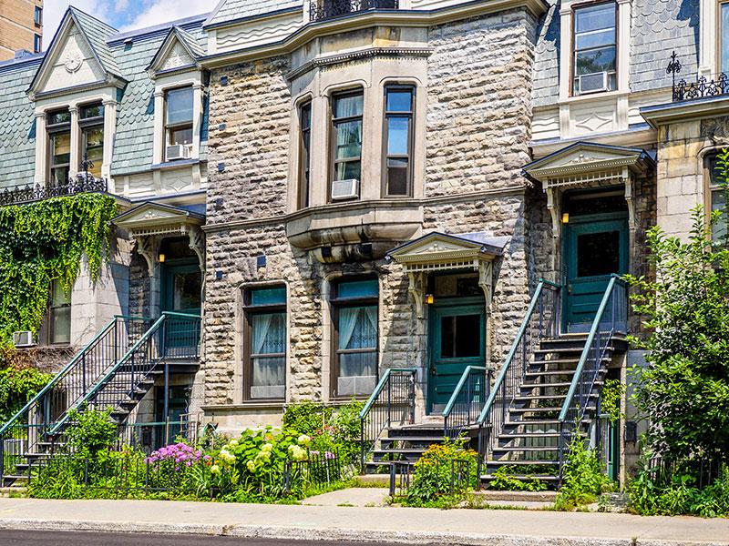 Hausse de 14 % des ventes de maisons à Montréal
